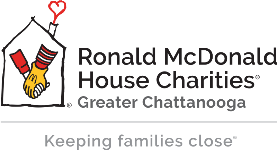 Ronald McDonald House Charities of Greater Chattanooga logo.