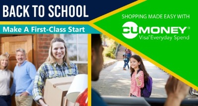 Make a first-class start. School shopping is easy with an Everyday Spend Card.