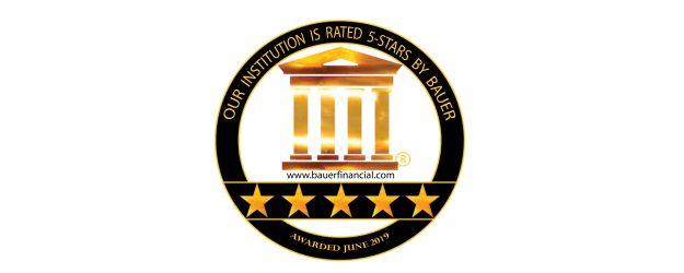 SCCU is rated a 5-star institution by Bauer Financial.